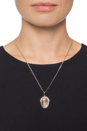 Necklace with a skull motif od Alexander McQueen