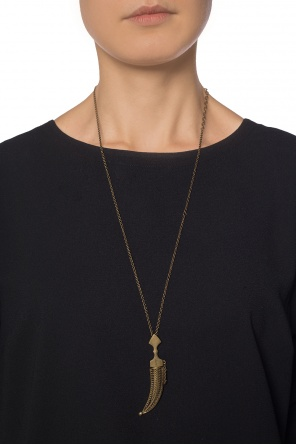 Necklace with cuspid motif od Saint Laurent