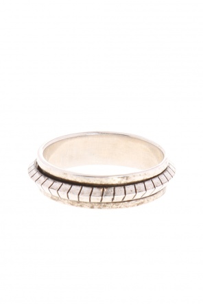 Embossed brass ring od Saint Laurent