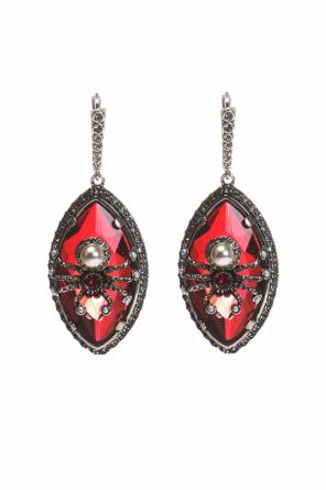 Earrings with a spider motif od Alexander McQueen