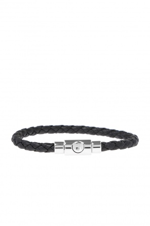 Braided leather bracelet od Salvatore Ferragamo