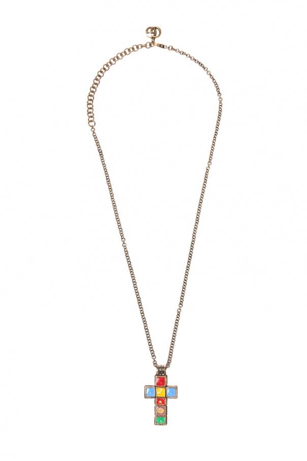 Cross motif necklace od Gucci