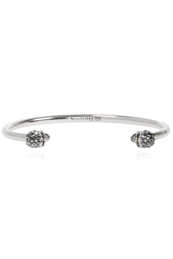 Alexander McQueen Skull motif bracelet