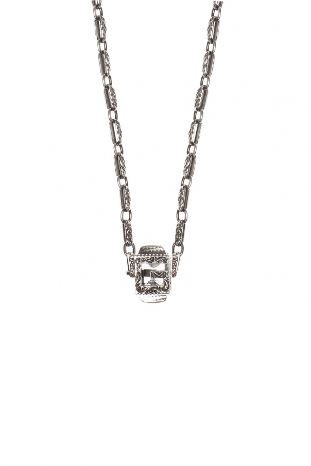 Decorative charm necklace od Gucci