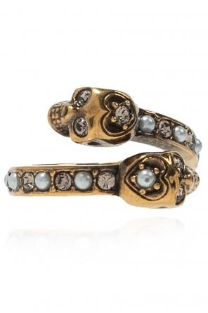 Brass ring od Alexander McQueen