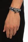 Alexander McQueen Double-wrap bracelet with logo