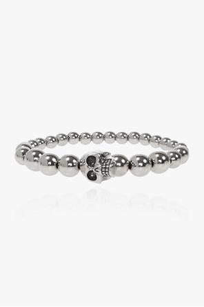 Skull motif bracelet od Alexander McQueen