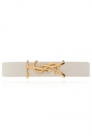 Bracelet with logo od Saint Laurent