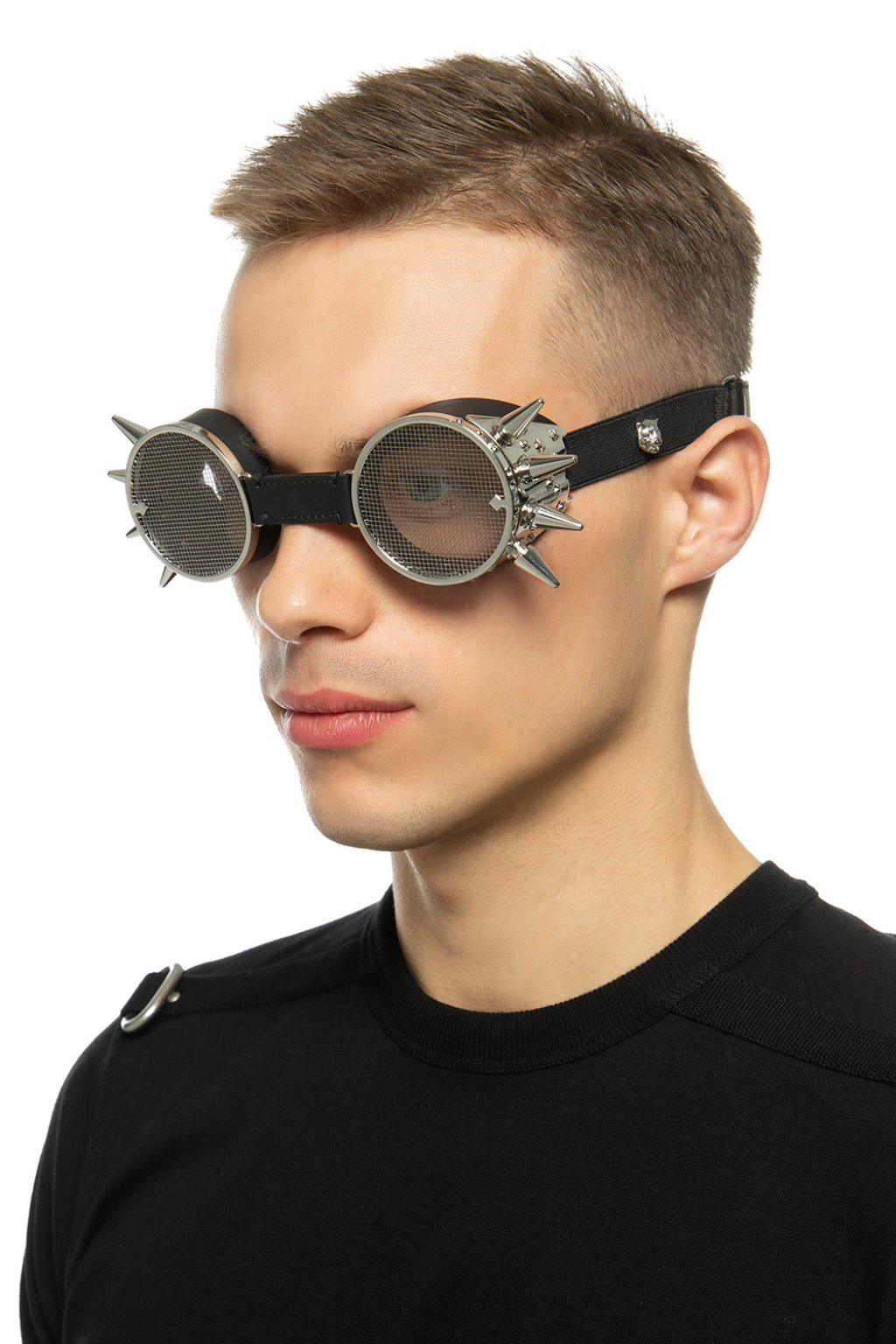 Gucci Spiked goggles