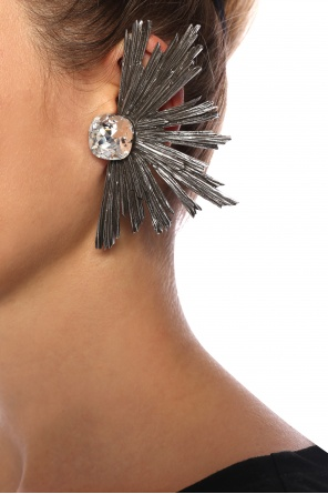 b09120a1707 Adorned clip-on earrings od Saint Laurent ...