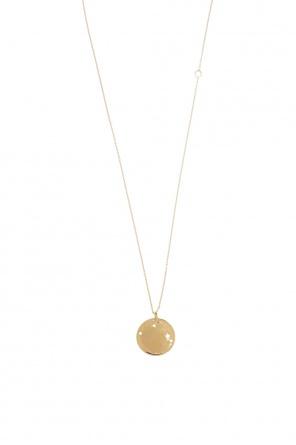 a5e29ee726c ... Necklace with medallion pendant od Saint Laurent