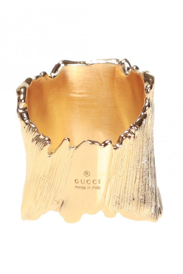 Ring with logo od Gucci
