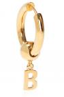 Balenciaga logo配饰耳环