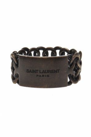 Logo ring od Saint Laurent