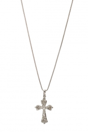 Cross pendant necklace od Saint Laurent