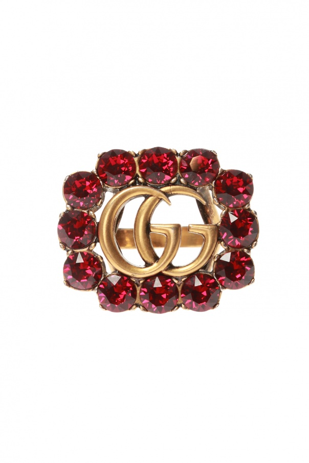 Gucci Ring with crystals