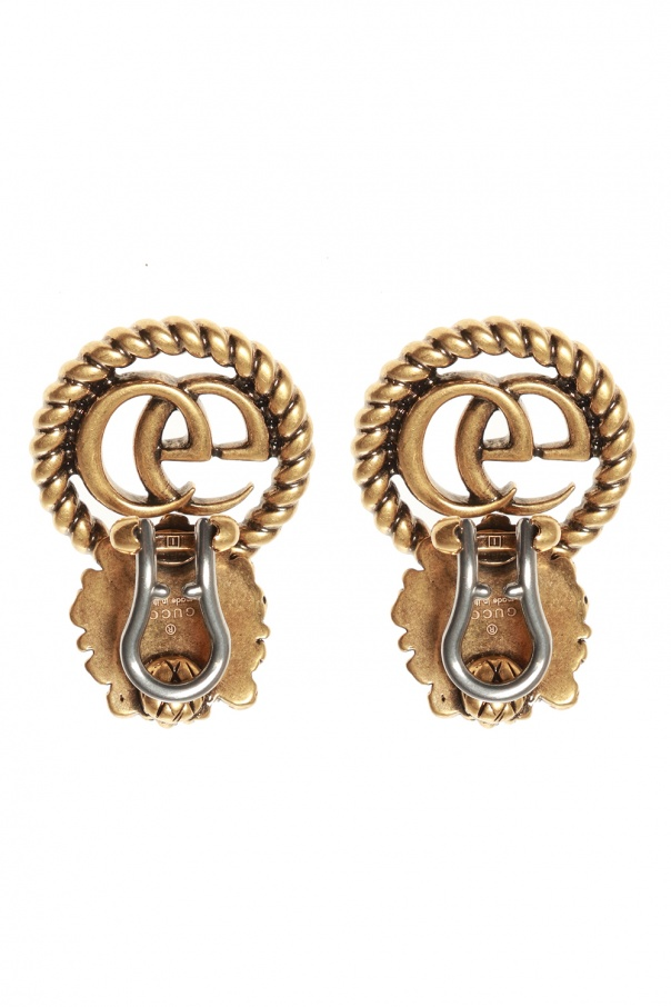Clip-on earrings with logo od Gucci