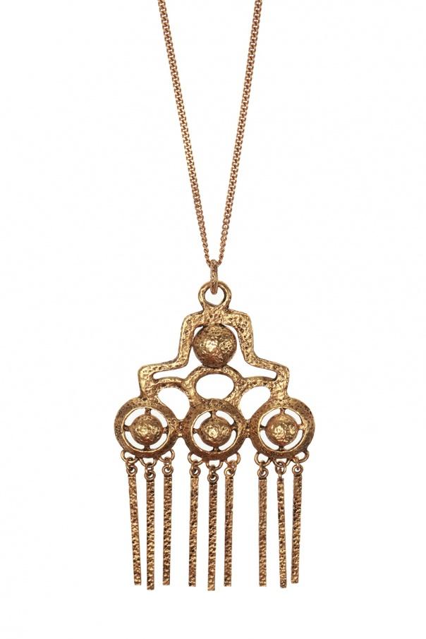 Saint Laurent Brass necklace