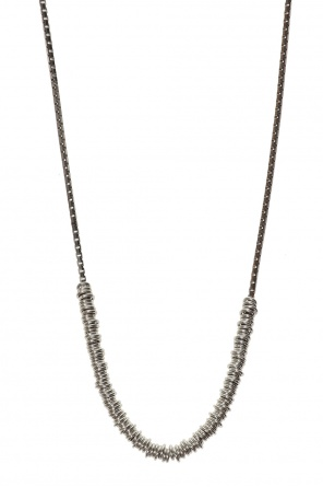 Silver necklace od Bottega Veneta