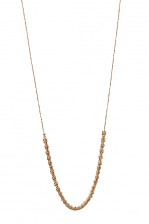 Gold-plated necklace od Bottega Veneta