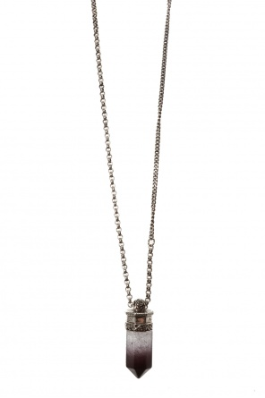Necklace with decorative applique od Alexander McQueen