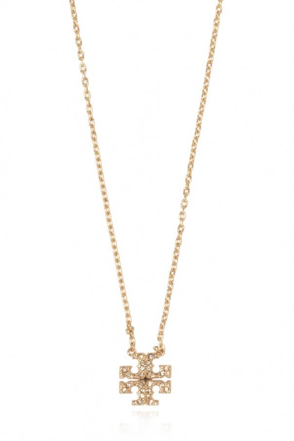 Tory Burch Necklace with logo pendant