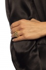 Srebrny pierścień od Bottega Veneta
