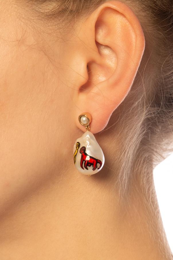 Earring pendant od Bottega Veneta