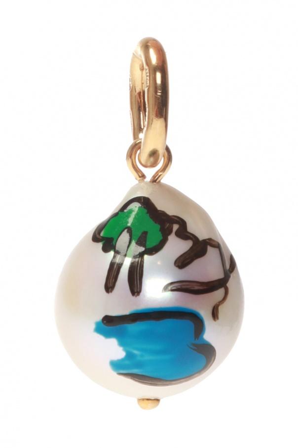 Chain pendant od Bottega Veneta