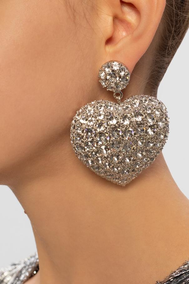 'susi heart' earrings od Balenciaga
