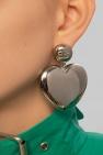 Balenciaga 心形耳环