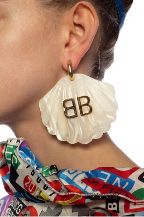 Earrings with logo od Balenciaga