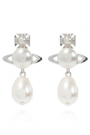'inass' drop earrings od Vivienne Westwood
