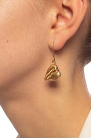 Drop earrings od Saint Laurent