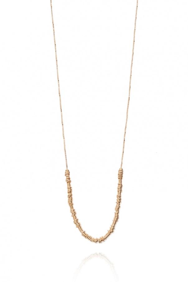 Bottega Veneta Sterling silver necklace