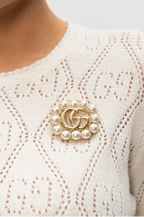 Logo brooch od Gucci