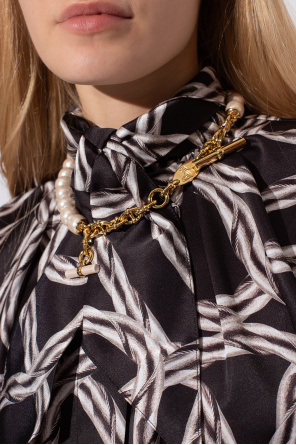 Necklace with logo od Vivienne Westwood