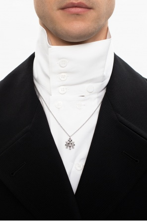 'dalila' necklace with logo od Vivienne Westwood