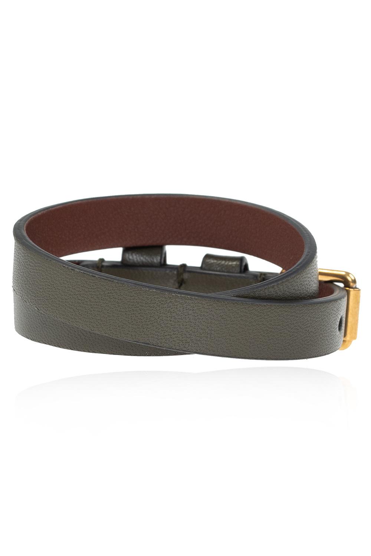 Alexander McQueen Leather bracelet