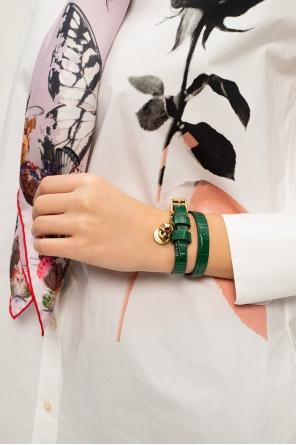 Leather bracelet od Alexander McQueen