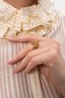 Saint Laurent Mosiężny pierścień