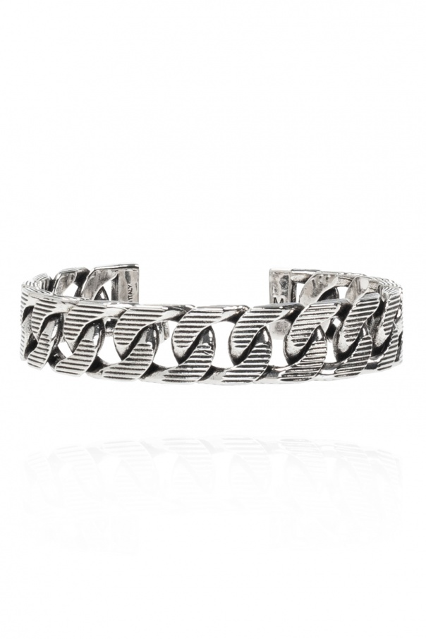 Alexander McQueen Brass bracelet