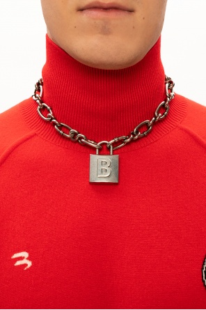 Chain necklace with pendant od Balenciaga