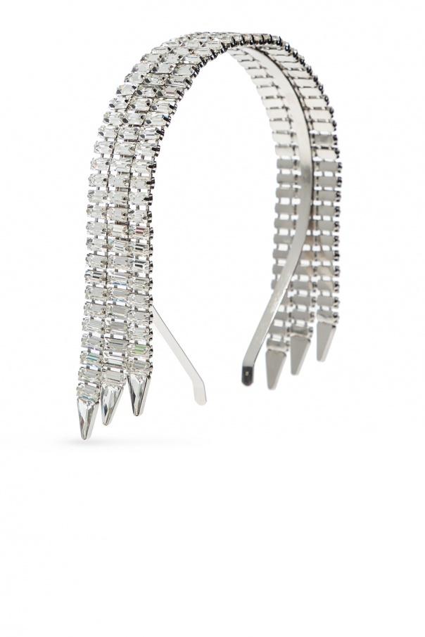 Gucci Crystal-embellished headband