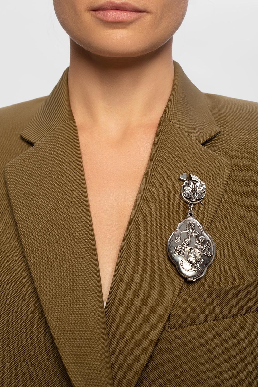 Alexander McQueen Pendant with mirror