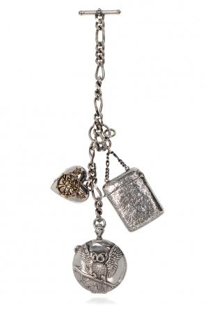 Brass pendant od Alexander McQueen