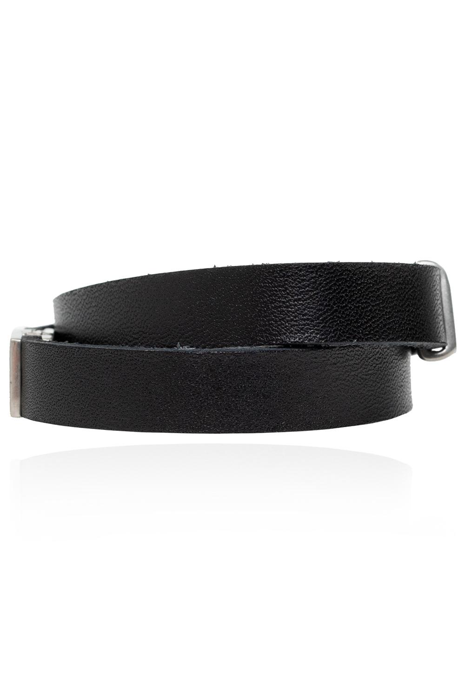 Saint Laurent Leather bracelet