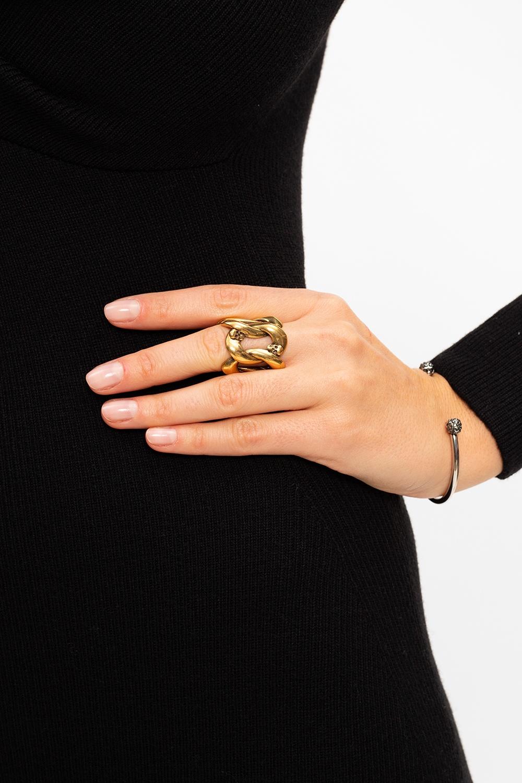 Alexander McQueen Brass ring