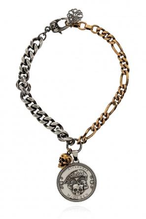 Bracelet with pendants od Alexander McQueen