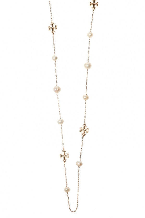 Tory Burch 'Kira' necklace with logo